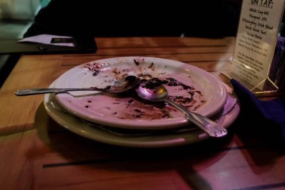 dessert vanquished